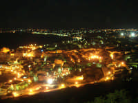 panorama notturno della città e del golfo - 19 settembre 2007   - Castellammare del golfo (783 clic)