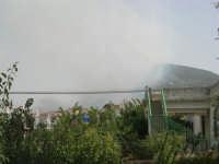 Incendio sul Monte Bonifato (5) - 23 agosto 2007  - Alcamo (863 clic)