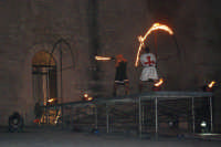 Festeggiamenti Maria SS. dei Miracoli - La Festa del Paradiso - L'Assalto al Castello - Piazza Castello - 20 giugno 2008   - Alcamo (595 clic)