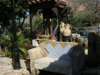 un angolo del giardino del Ristorante Alfredo - 24 febbraio 2008   - San vito lo capo (597 clic)