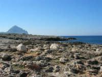 Golfo del Cofano: scogliera e Monte Cofano - 24 febbraio 2008  - San vito lo capo (566 clic)
