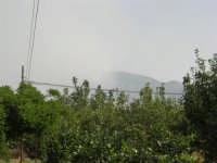 Incendio sul Monte Bonifato (7) - 23 agosto 2007  - Alcamo (866 clic)
