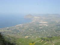 Panorama del litorale da Pizzolungo a Bonagia, a Cornino e monte Cofano - entroterra - 1 maggio 2008    - Erice (844 clic)