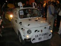Notte Bianca - Si festeggiano i 50 anni della mitica  500: sfilata nel corso IV Aprile (cassaru strittu)- (15)- 10 agosto 2007  - Alcamo (1217 clic)