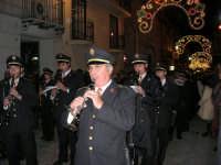 festa dell'Immacolata: processione nel corso VI Aprile - la banda - 8 dicembre 2006   - Alcamo (1362 clic)