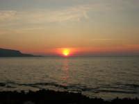 Golfo di Bonagia - tramonto - 12 ottobre 2008   - Cornino (829 clic)