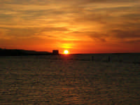 tramonto sul Lungomare Dante Alighieri - 18 settembre 2008   - Trapani (788 clic)