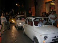 Notte Bianca - Si festeggiano i 50 anni della mitica  500: sfilata nel corso IV Aprile (cassaru strittu)- (18)- 10 agosto 2007  - Alcamo (1237 clic)