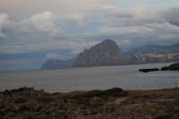 Golfo di Bonagia e monte Cofano - 16 novembre 2008  - Pizzolungo (2916 clic)