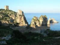 torri di avvistamento, faraglioni e tonnara - 3 marzo 2008   - Scopello (897 clic)