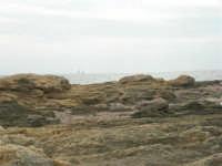 Capo Lilybeo: scogli e vele all'orizzonte - 24 settembre 2007  - Marsala (1328 clic)