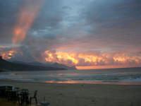 spiaggia Plaja - la natura offre il suo spettacolo - 2 giugno 2007  - Castellammare del golfo (718 clic)