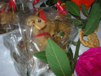 agnelli pasquali e pani di San Giuseppe - Progetto PON per la Pasqua - I.C. Pascoli - 3 aprile 2009  - Castellammare del golfo (1016 clic)