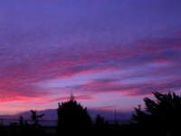 Lo spettacolo della natura all'alba (3) - 18 febbraio 2006  - Alcamo (1760 clic)