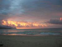 spiaggia Plaja - la natura offre il suo spettacolo - 2 giugno 2007  - Castellammare del golfo (601 clic)