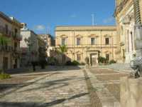 piazza e Chiesa Madre - 4 ottobre 2009   - Partanna (2291 clic)