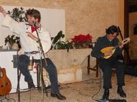 Concerto NAPOLINCANTO - Gianni Aversano (voce e chitarra), Ferdinando Piscopo (mandolino) - 10 dicembre 2009   - Alcamo (1694 clic)