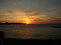 tramonto sul Lungomare Dante Alighieri - 18 settembre 2008   - Trapani (815 clic)