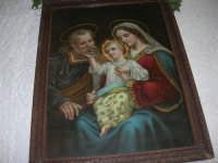 Gli altari di San Giuseppe - quadro raffigurante la Sacra Famiglia - 18 marzo 2009   - Balestrate (5669 clic)
