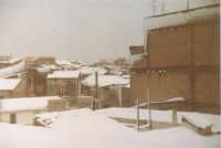 Eccezionale nevicata - Tetti - 1982  - Alcamo (1440 clic)