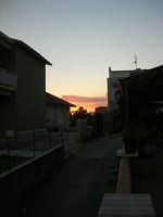 Il fuoco del tramonto.  - 29 gennaio 2008  - Alcamo (908 clic)