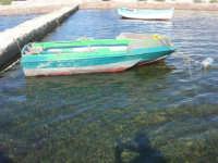 il piccolo molo del Villino Nasi - 6 settembre 2007  - Trapani (1011 clic)