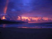 spiaggia Plaja - la natura offre il suo spettacolo - 2 giugno 2007  - Castellammare del golfo (706 clic)