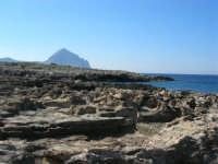 Golfo del Cofano: scogliera e Monte Cofano - 24 febbraio 2008  - San vito lo capo (548 clic)
