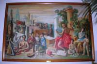 quadro di Gianbecchina SCUOLA E PROGRESSO - 1968, esposto presso l'Istituto Comprensivo G. Pascoli - 16 gennaio 2008  - Castellammare del golfo (1224 clic)