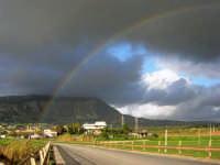 Monte Erice dopo la pioggia - 1 febbraio 2009   - Erice (3269 clic)