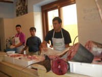 la Pescheria Randazzo in via Guglielmo Marconi - 21 luglio 2007   - Castellammare del golfo (2645 clic)