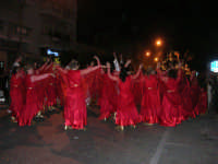 Carnevale 2008 - XVII Edizione Sfilata di Carri Allegorici - Cavalcano gli ... Eroi a Roma - Comitato San Marco - 3 febbraio 2008   - Valderice (1365 clic)