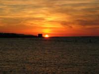tramonto sul Lungomare Dante Alighieri - 18 settembre 2008   - Trapani (880 clic)