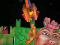 Carnevale 2008 - XVII Edizione Sfilata di Carri Allegorici - Le quattro stagioni - Associazione Ragosia - 3 febbraio 2008   - Valderice (706 clic)