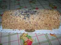 tronchetto gelato nocciola e cioccolato - 11 settembre 2009  - Alcamo marina (6373 clic)