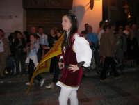 2° Corteo Storico di Santa Rita - Associazione Sbandieratori Città di Caccamo - 17 maggio 2008   - Castellammare del golfo (432 clic)