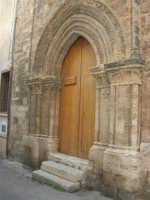 Portale Chiesa S. Tommaso - 20 giugno 2008  - Alcamo (1068 clic)