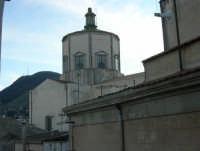 cupola della Chiesa del Collegio e monte Bonifato - 1 gennaio 2007  - Alcamo (1027 clic)