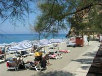 Villaggio Turistico Capo Calavà - la spiaggia - 23 luglio 2006  - Gioiosa marea (1286 clic)