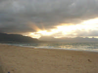 c/da Canalotto - tramonto . . . grigio - 13 aprile 2008   - Alcamo marina (1597 clic)