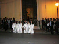 2° Corteo Storico di Santa Rita - Dinanzi la Chiesa S. Antonio - seconda uscita - Angeli messaggeri di un misterioso evento - 17 maggio 2008   - Castellammare del golfo (685 clic)