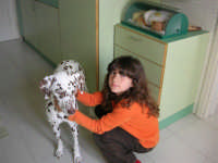 Giorgia e Laika - 24 aprile 2005  - Alcamo (2517 clic)