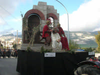 Processione della Via Crucis con gruppi statuari viventi - 5 aprile 2009  - Buseto palizzolo (1581 clic)