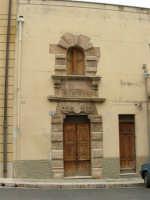 Casa del poeta Ciullo d'Alcamo - 25 aprile 2005  - Alcamo (1770 clic)