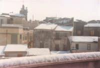 Eccezionale nevicata - Tetti - 1982  - Alcamo (4441 clic)