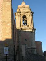 il campanile della Chiesa Parrocchiale di San Giuliano - sec. XII - XVII - 6 luglio 2007  - Erice (878 clic)