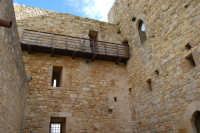Castello arabo normanno - atrio interno - 6 gennaio 2009   - Salemi (2645 clic)