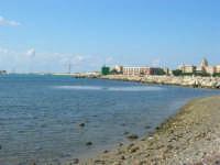 vista sulla città da oltre il porto - 28 settembre 2008   - Trapani (865 clic)