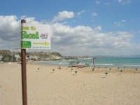 Lido Majata Beach in Contrada Punta Grande - In fondo Porto Empedocle - 7 settembre 2007  - Realmonte (4967 clic)