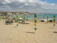 Lido Majata Beach in Contrada Punta Grande - In fondo Porto Empedocle - 7 settembre 2007  - Realmonte (10686 clic)